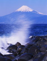 Mt.Fuji from sea