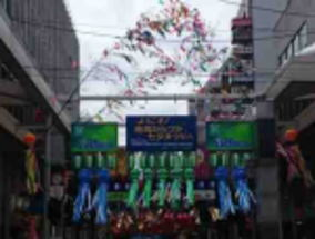 The decorations of Tanabata